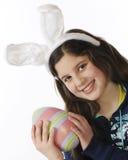 Tween Easter Bunny Stock Photography