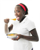 Tween Enjoying Haitian Independence Day Royalty Free Stock Photo