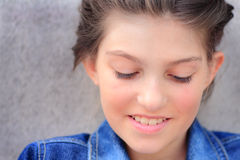 Tween Girl Beauty Stock Photography