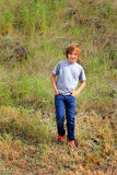 Tween Hiker Stock Images