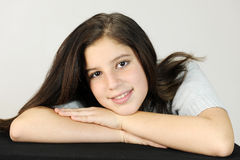 Tween Relaxed Image stock