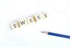 Tweet Royalty Free Stock Images