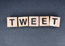 tweet Stockfotografie