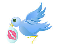 Tweet bird Royalty Free Stock Photography
