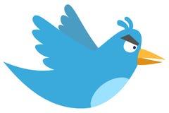 Tweet irritado Fotografia de Stock