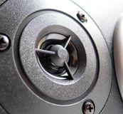 Tweeter. Speaker element - high frequency tweeter Stock Image