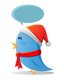 Tweeter christmas Royalty Free Stock Images