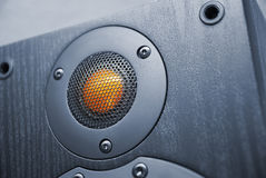 Tweeter. Element of speaker system Royalty Free Stock Photography