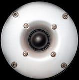 Tweeter speaker. Modern speaker tweeter, close-up stock photos