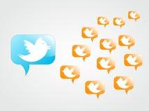 Tweeting zu den Nachfolgern