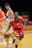 Tweety Carter - CEZ Basketball Nymburk Royalty Free Stock Photography