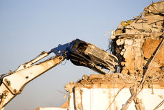Tweezer of demolition Stock Images