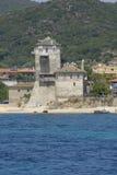 Twelfth century Byzantine tower. Stock Photo