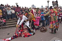Twelfth Night Celebrations, London UK Royalty Free Stock Image