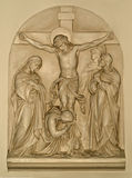 Twelfth station of the cross royalty free stock images