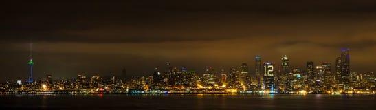 Twelth-Mann, Seattle, Washington State Lizenzfreie Stockfotos
