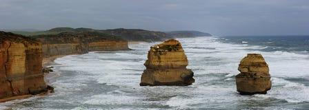 Twelve Apostle Coastline Stock Image