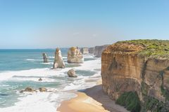 Twelve Apostle Port Campbell National Park royalty free stock photo