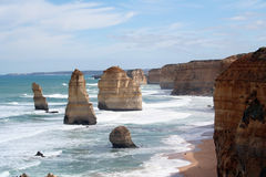 Twelve apostles. The Twelve apostles rocks, Australia Stock Photo