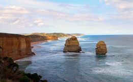 Twelve Apostles 12 Royalty Free Stock Photos