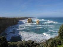 Twelve apostles. Famous australian landmark (Great Ocean Road, Victoria, Australia Royalty Free Stock Images