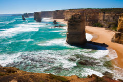 The Twelve Apostles Royalty Free Stock Photography