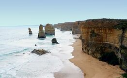 Twelve Apostles 20 Royalty Free Stock Photography