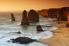 Twelve Apostles. This shot was taken in Victoria. CAmera: EOS 350D Lens: EF 17-40mm L stock photos