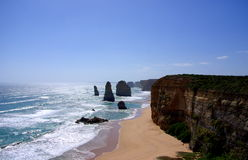Twelve Apostles. Photograph taken at the iconic Twelve Apostles (Great Ocean Road, Australia stock photo