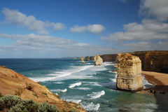 The Twelve Apostles. Southern Ocean, Australia Stock Image