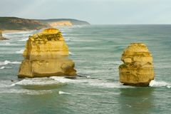 Twelve Apostles Royalty Free Stock Photo