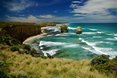 Twelve Apostles. Great Ocean Road, Victoria, Australia on a bright sunny day Royalty Free Stock Image