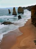 Twelve Apostles. Royalty Free Stock Photography