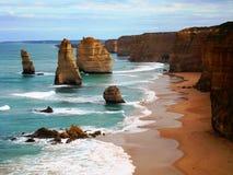Twelve Apostles. Along Great Ocean Road in southeast Australia Stock Photos