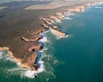 Twelve Apostles in Australia stock images