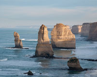 Twelve Apostles in Australia Stock Images