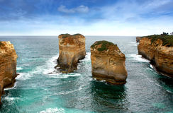 Twelve apostles, Australia Royalty Free Stock Images