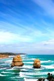 Twelve apostles, Australia. Twelve apostles, Great Ocean road, Victoria, Australia Stock Photos