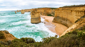 The Twelve Apostles in Australia Royalty Free Stock Images