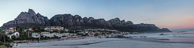 Twelve Apostles, Cape Town stock image