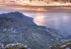 The Twelve Apostles in Cape Town, South Africa Royalty Free Stock Image