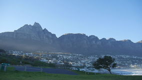 Twelve Apostles at Cape Town. Cape Town, South Africa-August 17:12 mountains from Table Mountain to Cape Point stock video footage