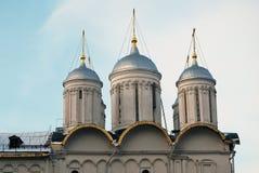 Twelve apostles church of Moscow Kremlin. Color photo. Royalty Free Stock Photos