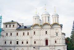 Twelve apostles church. Moscow Kremlin. UNESCO Heritage. Royalty Free Stock Photo