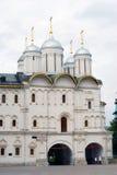 Twelve apostles church. Moscow Kremlin. UNESCO Heritage. Stock Photo