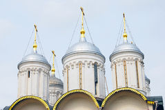 Twelve apostles church. Moscow Kremlin. UNESCO World Heritage Si Stock Image