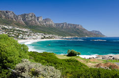 Twelve Apostles. The coast of the Cape Peninsula Stock Photo