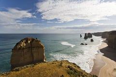 Twelve Apostles Coastline Stock Photos