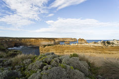 Twelve Apostles Coastline Royalty Free Stock Images