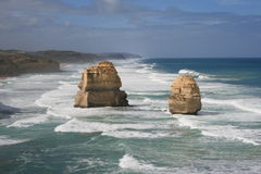 Twelve Apostles, Great Ocean Road. Twelve Apostles Sea Stacks, Great Ocean Road, Victoria, Australia Stock Photos